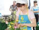 Liên đoàn Lao động huyện Bắc Tân Uyên: Tổ chức hội thi nấu ăn, cắm hoa