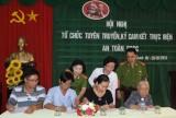 Phòng Cảnh sát PC&CC số 1: Tập huấn công tác tuyên truyền về công tác PC&CC cho người dân