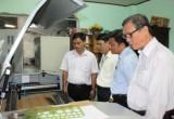 Nghiệm thu đề án Hỗ trợ ứng dụng cụm máy móc thiết bị trong sản xuất sản phẩm cơ khí