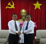 Tổng Giám đốc Thông tấn xã Việt Nam thăm và làm việc tại Bình Dương