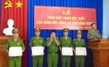 Công an Bình Dương: Khen thưởng đột xuất Công an huyện Bắc Tân Uyên