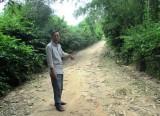Người hiến 1.000m2 đất làm đường giao thông nông thôn