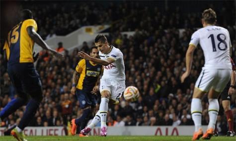 Tottenham đại thắng, Everton giữ ngôi đầu bảng ở Europa League
