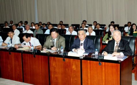 Đại hội Hội Hữu nghị Việt Nam - Campuchia tỉnh Bình Dương nhiệm kỳ II (2014-2019)