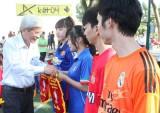 29 đội bóng tham dự Giải bóng đá cúp sinh viên đại học Thủ Dầu Một