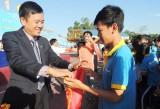 """Giải Việt dã """"Cùng Sacombank chạy vì sức khỏe cộng đồng"""""""