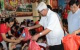 Nguyên Chủ tịch Ủy ban TW MTTQVN Phạm Thế Duyệt thăm Trung tâm Nhân đạo Quê Hương