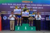 Kết thúc vòng 5 giải xe đạp Truyền hình Bình Dương mở rộng tranh cúp Becamex IDC 2014: Võ Ngọc Minh (Dinamo Đồng Nai) đoạt cú đúp giải thưởng
