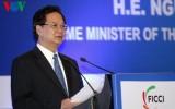 Thủ tướng phát biểu tại Diễn đàn thương mại và đầu tư Việt Nam - Ấn Độ