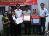 3 năm, xây tặng 85 căn nhà Chữ thập đỏ