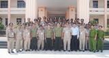 Đoàn lãnh đạo cấp cao Bộ Nội vụ Campuchia thăm và làm việc tại Bình Dương