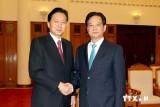 Thủ tướng tiếp cựu Thủ tướng Nhật Bản Yukio Hatoyama