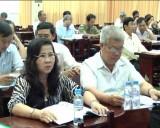 Bàu Bàng: Tập huấn kiến thức bảo vệ môi trường cho các thành viên Mặt trận Tổ quốc