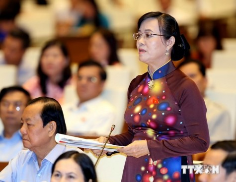 Quốc hội thảo luận về tình hình kinh tế-xã hội và dùng vốn ODA