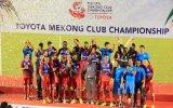 Chung kết giải bóng đá Toyota Mekong Club Championship 2014: B.Bình Dương vô địch thuyết phục