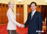 Thủ tướng Nguyễn Tấn Dũng tiếp tân Đại sứ Na Uy ở Việt Nam