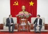 Lãnh đạo tỉnh Bình Dương tiếp và làm việc với Phòng Công nghiệp và Thương mại Đức tại Việt Nam