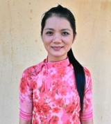 Cô giáo Bùi Thị Thương: Hết lòng vì học sinh thân yêu