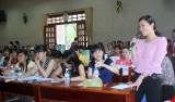 """Công đoàn giáo dục Bến Cát: Hội thảo """"phòng, chống các bệnh thường gặp ở phụ nữ"""""""