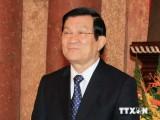 Chủ tịch nước lên đường dự Hội nghị cấp cao APEC 22