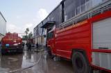 Cháy cơ sở sản xuất găng tay
