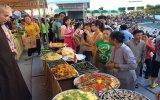 Hơn 1.500 người tham gia lễ hội ẩm thực chay 2014