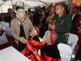 Tổng Bí thư dự Ngày hội đại đoàn kết toàn dân ở Thái Nguyên