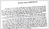 Viết tiếp vụ đơn thư tố cáo của ông Huỳnh Uy Dũng: Né tránh thực hiện kết luận tố cáo