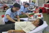 350 người tham gia hiến máu nhân đạo