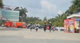 Bàu Bàng: Diễn tập phối hợp chữa cháy và cứu nạn cứu hộ