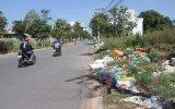 Bãi rác trong khu đô thị