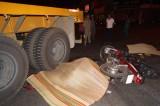 Tai nạn giao thông, hai người chết tại chỗ