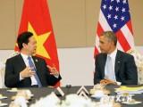 Thủ tướng Nguyễn Tấn Dũng gặp chính thức Tổng thống Obama