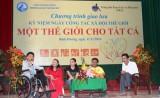 Tạo điều kiện để người khuyết tật vươn lên trong cuộc sống