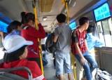 """""""Đạo chích"""" trên xe buýt"""