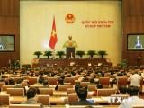 Quốc hội tiến hành lấy phiếu tín nhiệm đối với 50 chức danh