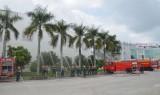 Bàu Bàng: Tổ chức diễn tập chữa cháy và cứu hộ cứu nạn