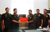 Quân đội Campuchia tiếp nhận khoản viện trợ của Việt Nam