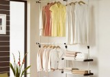 Giá treo quần áo vừa gọn vừa đẹp