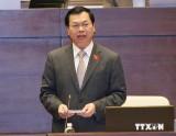 Chủ tịch Quốc hội giao nhiệm vụ cho Bộ trưởng Bộ Công Thương