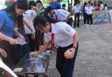 Gần 600 học sinh tham gia Ngày hội môi trường chào mừng 20-11