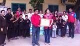 Hội Chữ thập đỏ tỉnh: Tặng quà cơ sở Bảo trợ xã hội từ thiện Ngọc Quý