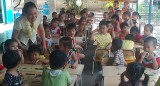 Trường Mẫu giáo Tân Định: Nâng cao chất lượng giáo dục phát triển vận động