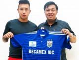 Becamex Bình Dương ký hợp đồng với Michal Nguyễn