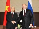 Việt-Nga ra Tuyên bố chung tiếp tục tăng quan hệ đối tác chiến lược