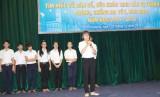 600 học sinh tham gia Hội thi tìm hiểu về DS - SKSSVTN; phòng, chống ma túy, HIV/AIDS