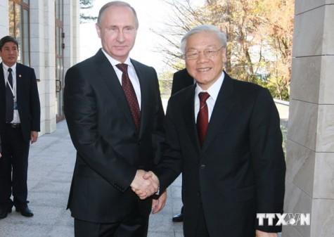Tổng Bí thư kết thúc tốt đẹp chuyến thăm chính thức Liên bang Nga