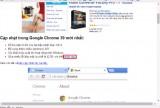Cách sửa lỗi hiển thị sai tiếng Việt khi dùng Chrome 39