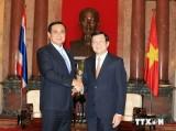Thái Lan sẽ phối hợp, ủng hộ Việt Nam trên các diễn đàn quốc tế