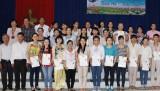 Hội Liên hiệp phụ nữ phường Phú Mỹ, TP.TDM: Bế giảng lớp nấu ăn đãi tiệc